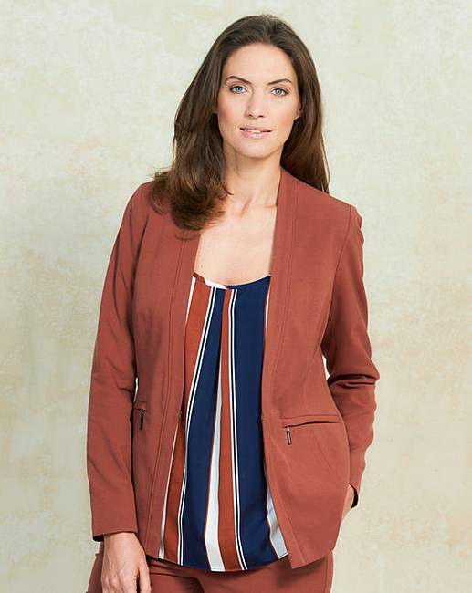 Mix and Match Short Tailored Jacket | J D Williams