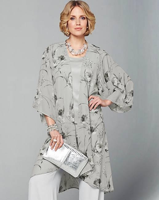 Nightingales Chiffon Kimono Ambrose Wilson