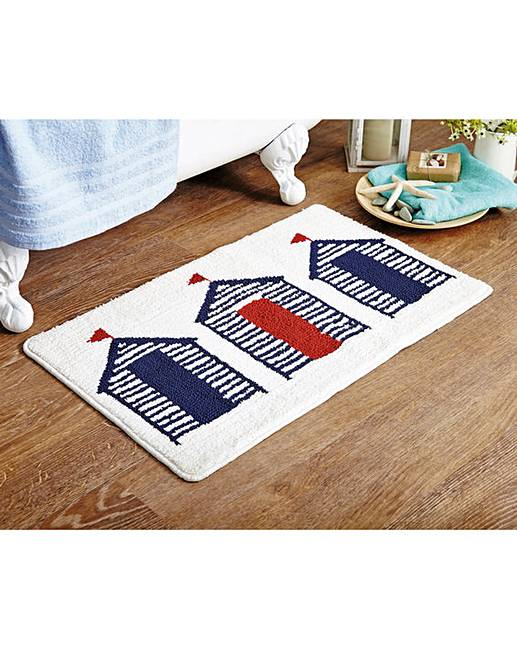 Beach Bath Rugs Home Decor