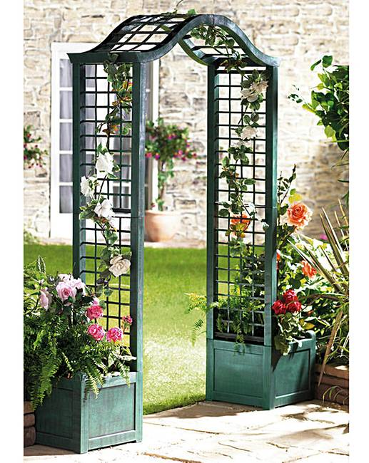 Waldorf Curved Planter 10' - Orlandi Statuary - Online ...  |Arched Planters