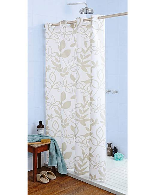Lydia Hookless Shower Curtain Julipa