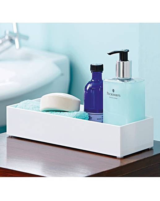 Toiletry storage tray crazy clearance for Bathroom tray for toiletries