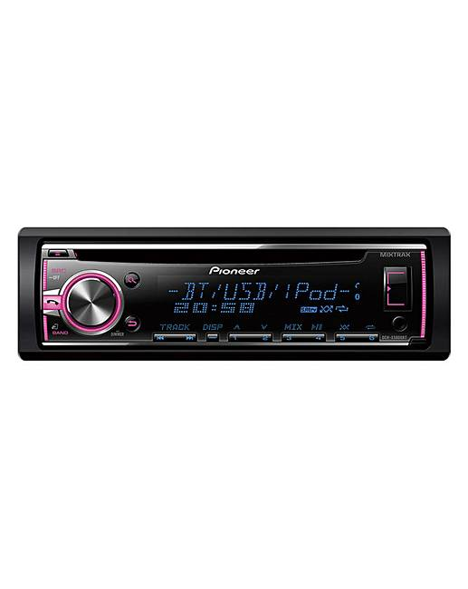 pioneer deh x5800bt car stereo fifty plus. Black Bedroom Furniture Sets. Home Design Ideas