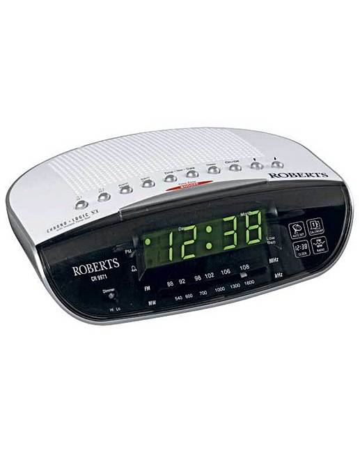roberts chronologic vi alarm clock radio fifty plus. Black Bedroom Furniture Sets. Home Design Ideas