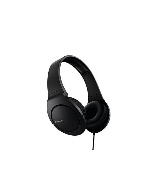 Pioneer SE-MJ741-K Headphones with Bass
