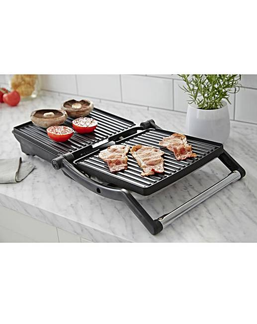 russell hobbs panini grill and griddle j d williams. Black Bedroom Furniture Sets. Home Design Ideas