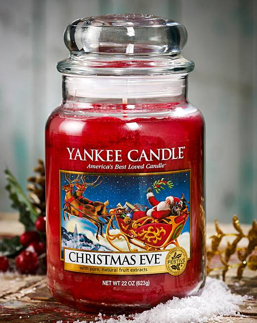 Image for Christmas Eve Yankee Candle Large