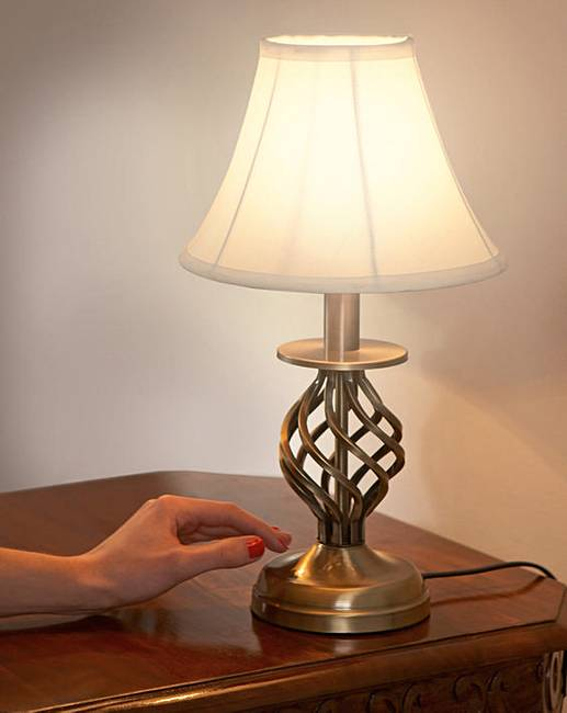 touch lampe nachttisch traditional bedside touch lamp. Black Bedroom Furniture Sets. Home Design Ideas