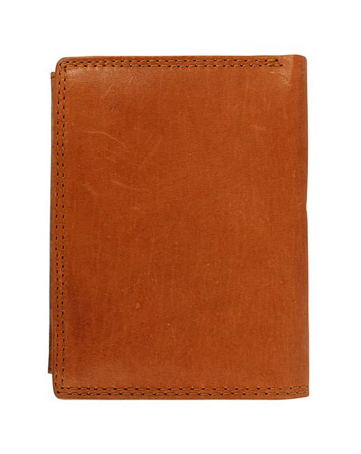 Justified Genuine Leather Wallet  J D Williams