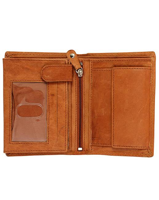 Justified Genuine Leather Wallet  Fashion World