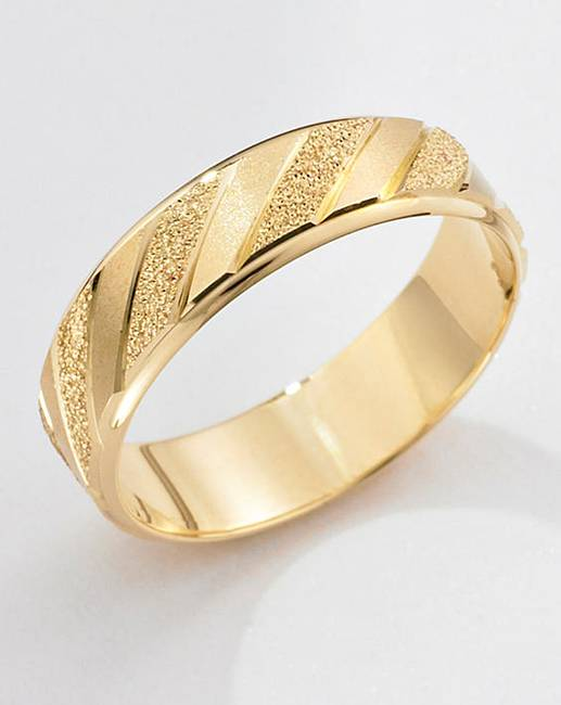 9 carat gold detailed wedding ring the brilliant gift shop