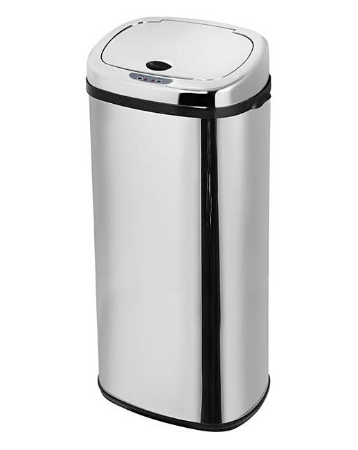 morphy richards 50 litre sensor bin j d williams. Black Bedroom Furniture Sets. Home Design Ideas