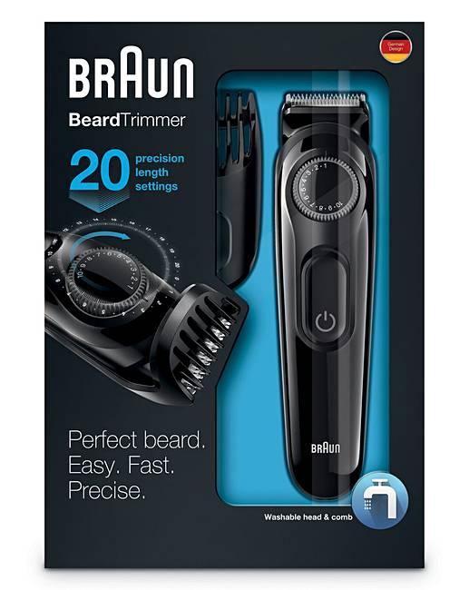 braun series 3 beard trimmer jacamo. Black Bedroom Furniture Sets. Home Design Ideas