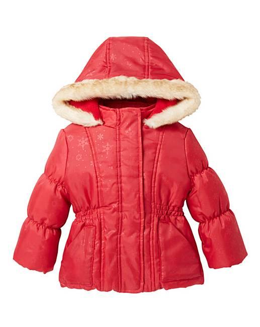 KD Baby Red Coat | J D Williams