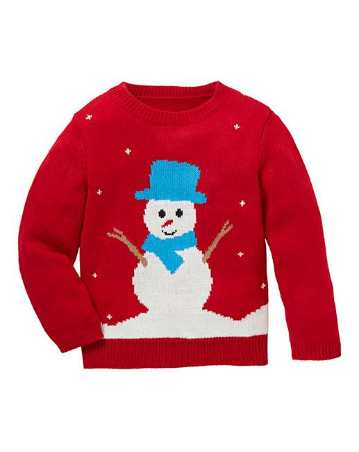 Christmas Snowman Knitted Jumper Marisota