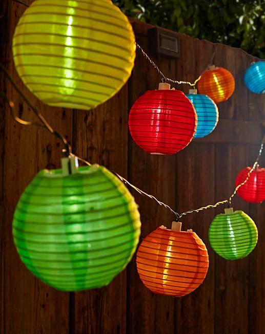 Chinese Lantern Solar String Lights Marisota