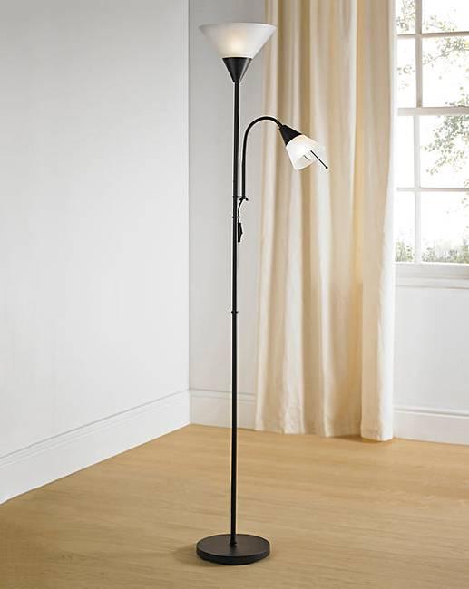 Dual Purpose Floor Lamp | Fifty Plus