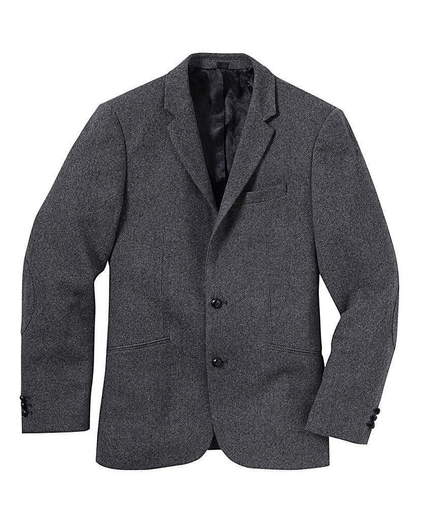 Jacamo Tweed Blazer Regular