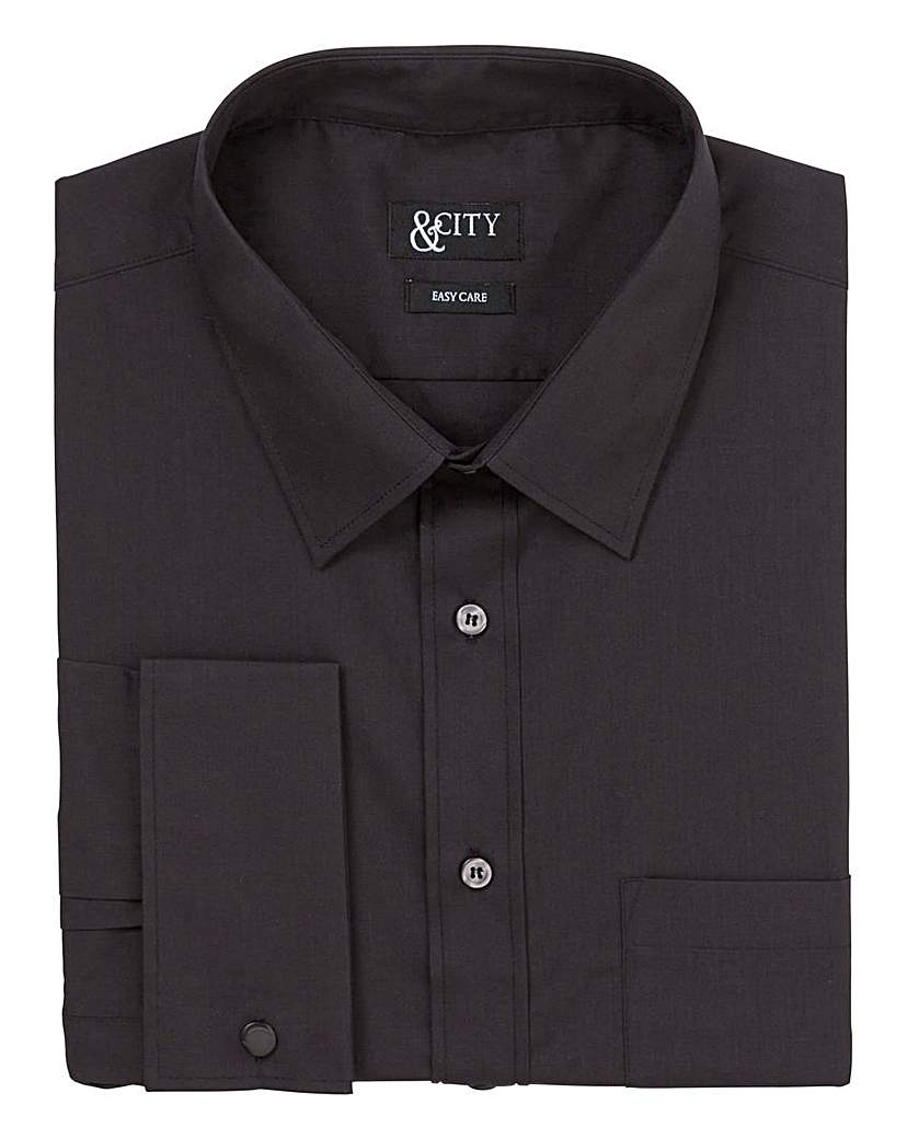 &City Tall Double Cuff Easycare Shirt