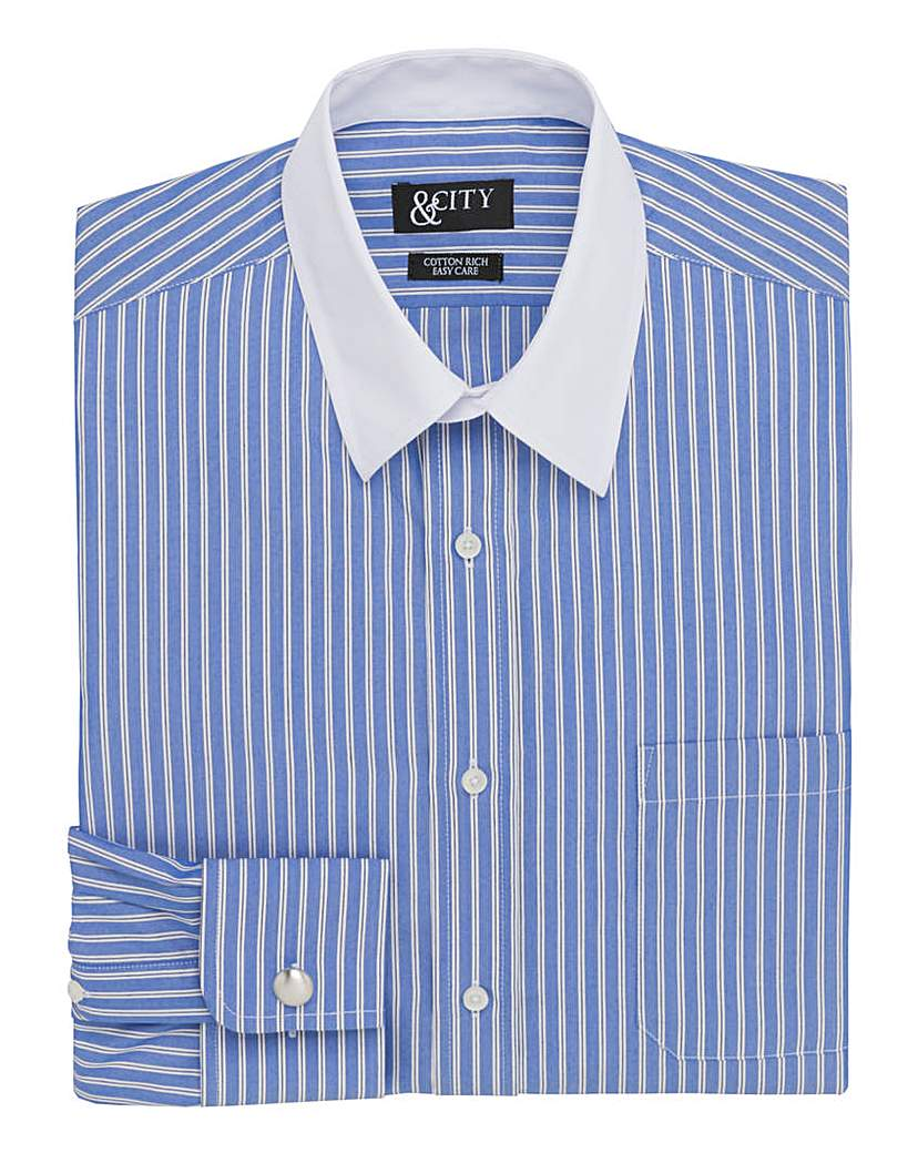 &City Tall Bold Stripe Shirt