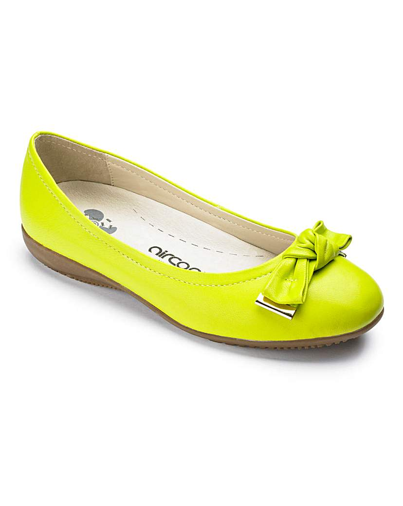 Image of Aircool Ballerina Shoes EEE Fit