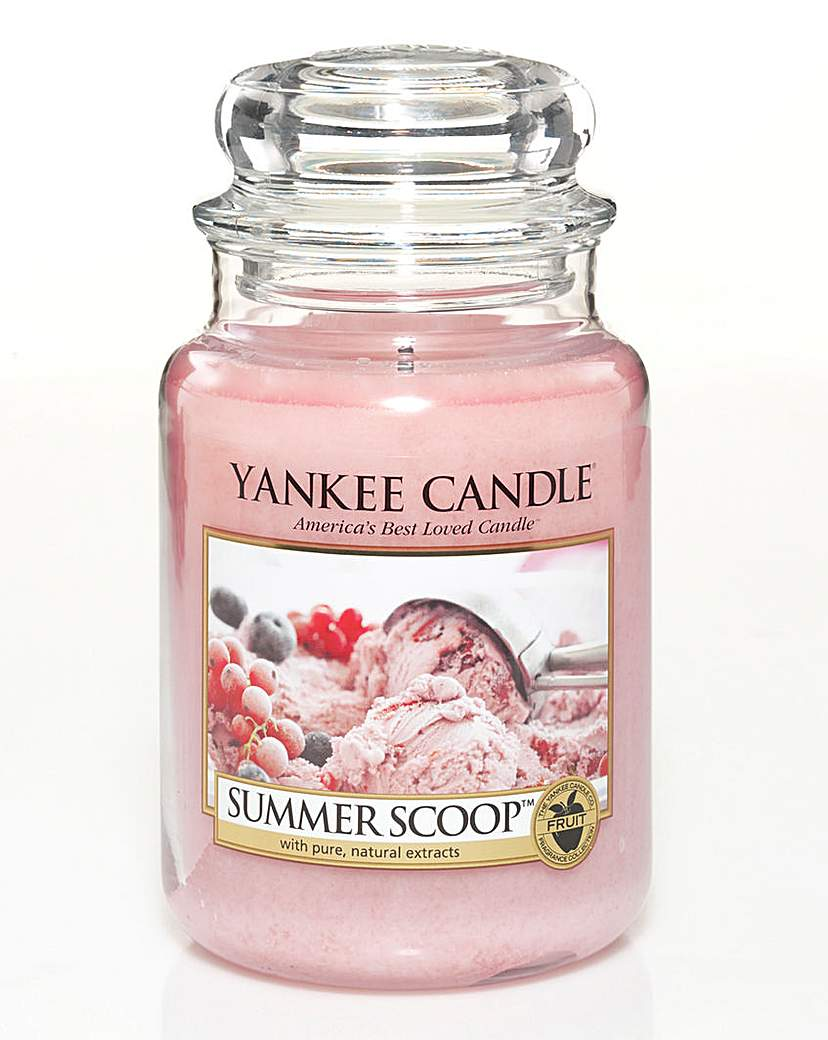 Image of Yankee Candle Summer Scoop Large Jar