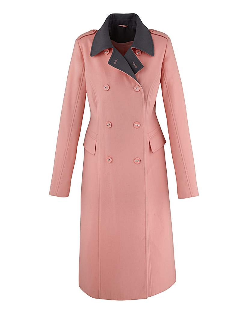 Retro Vintage Style Coats, Jackets, Fur Stoles Trench Coat 44in £34.00 AT vintagedancer.com