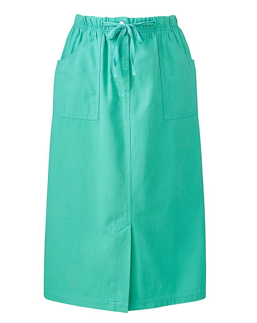 Cotton Skirt Length 25in