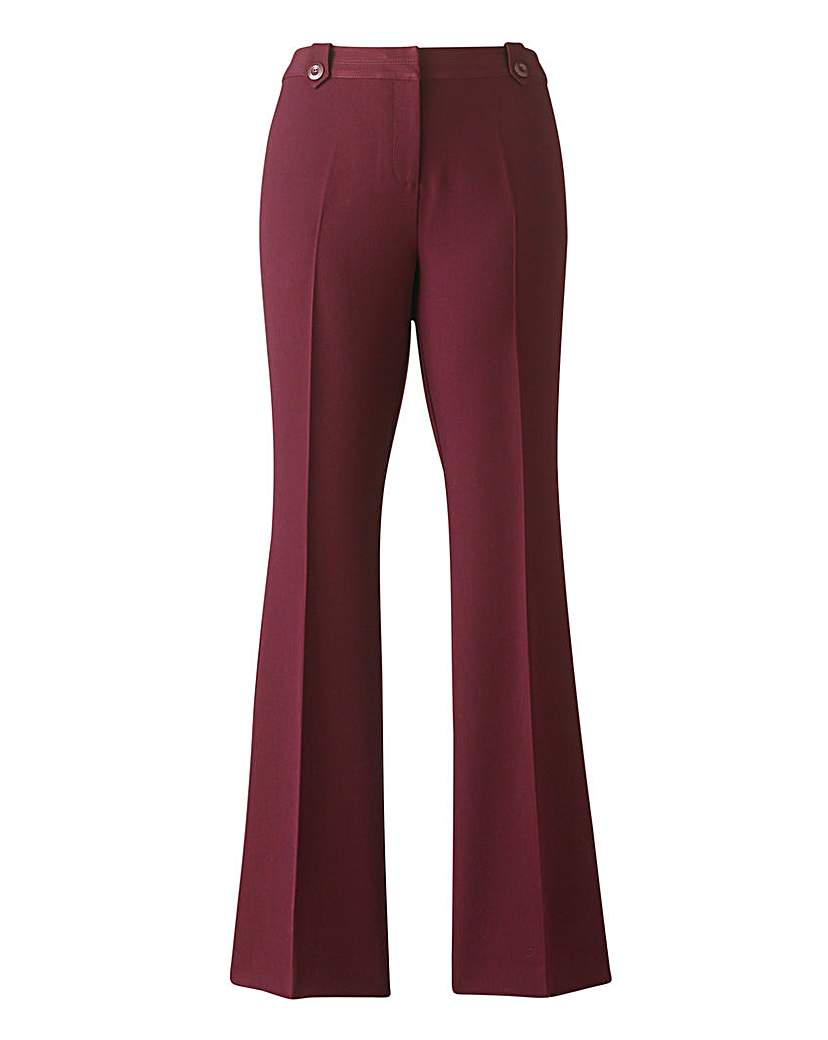 Mix & Match Bootcut Trousers Long