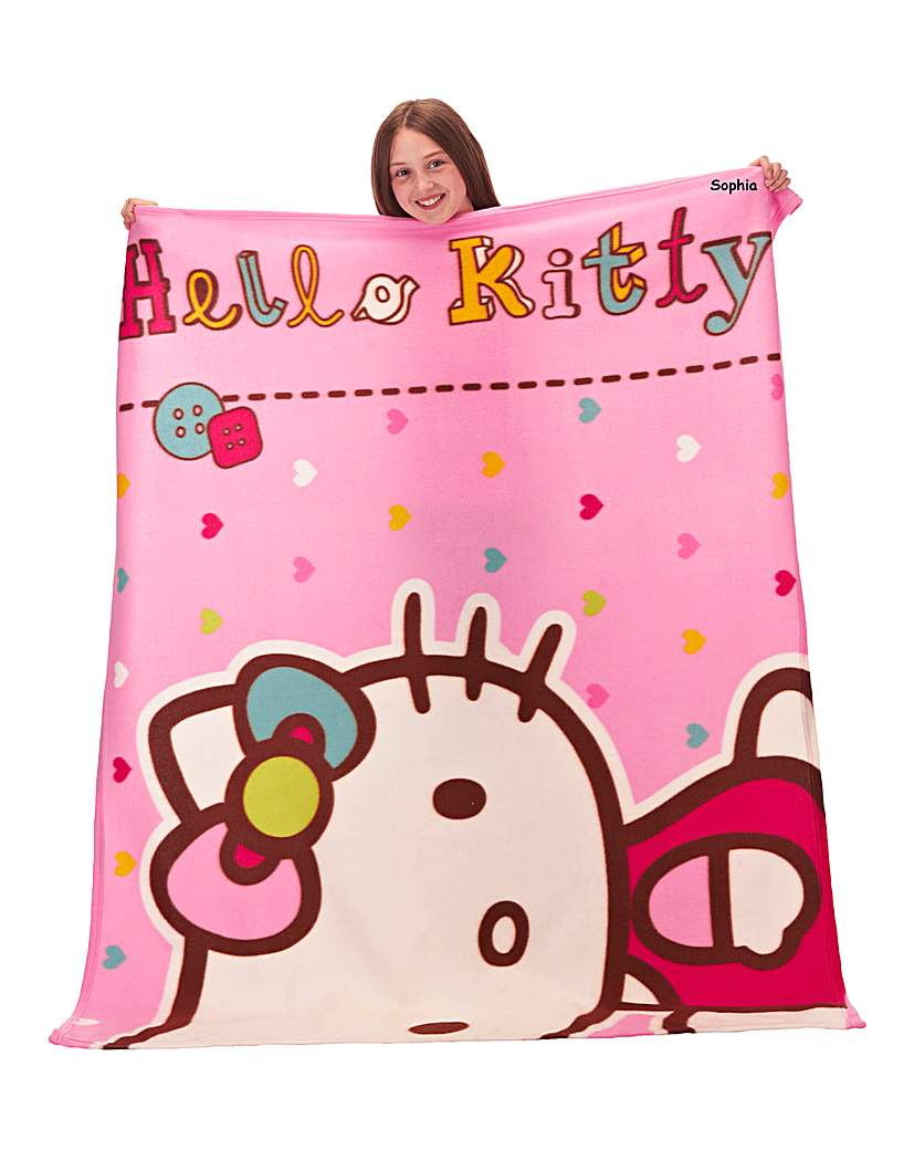 Image of Personalised Hello Kitty 'Folk' Fleece B