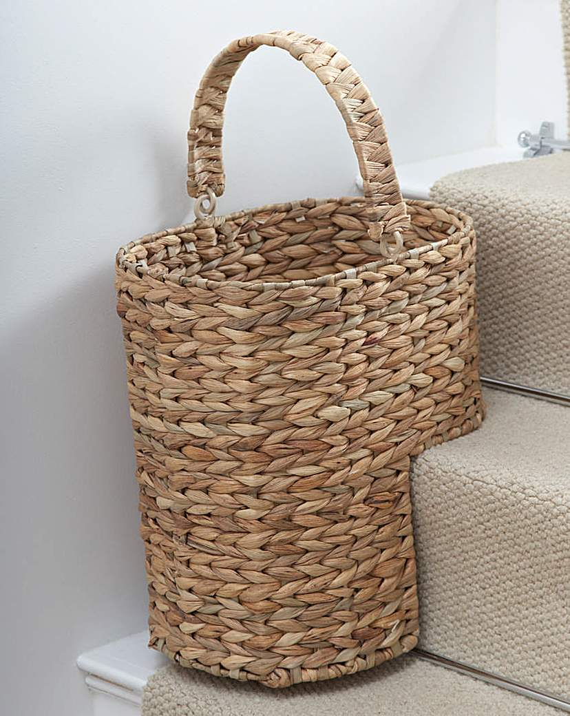 Water Hyacinth Stair Basket