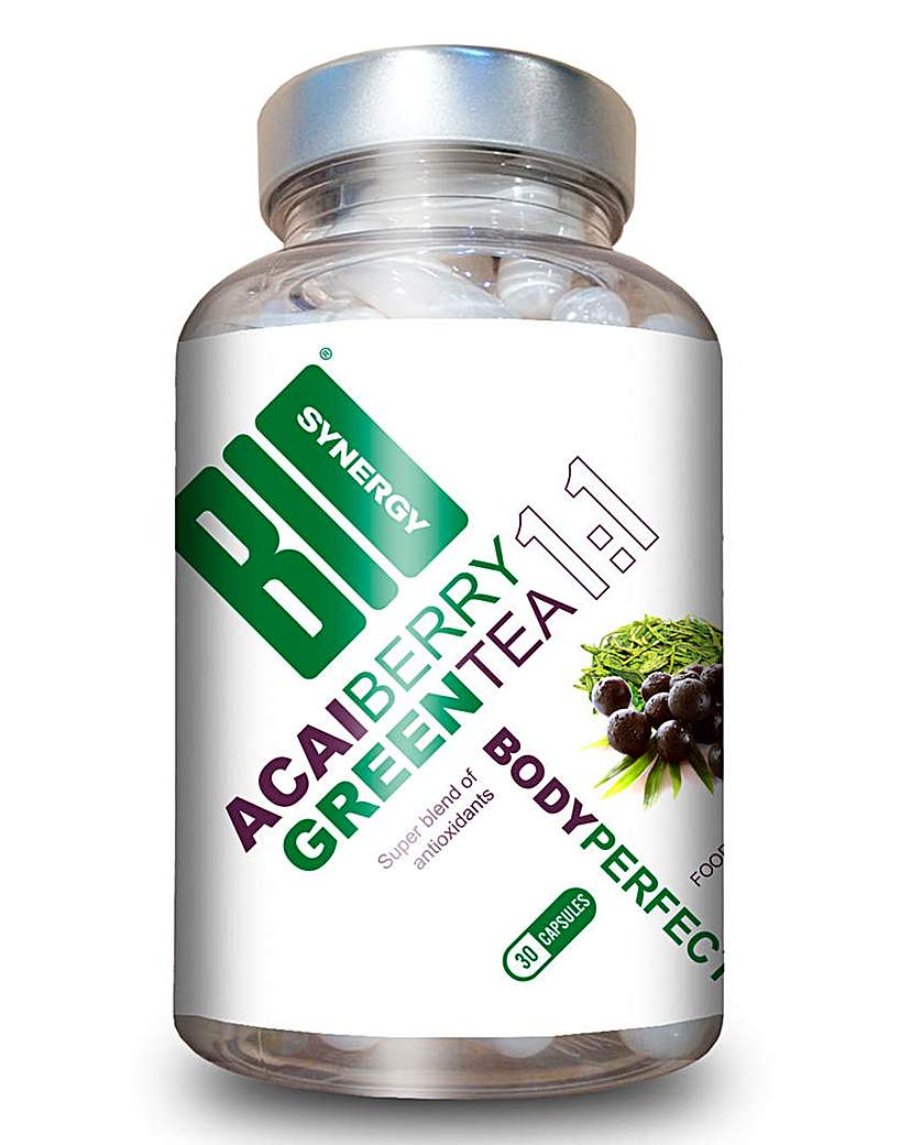 Image of Acai & Green Tea Slimming Capsules - 30