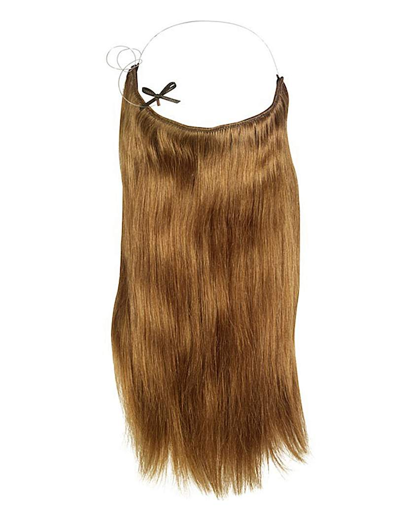 Halo 16in Hair Extensions Golden Brown