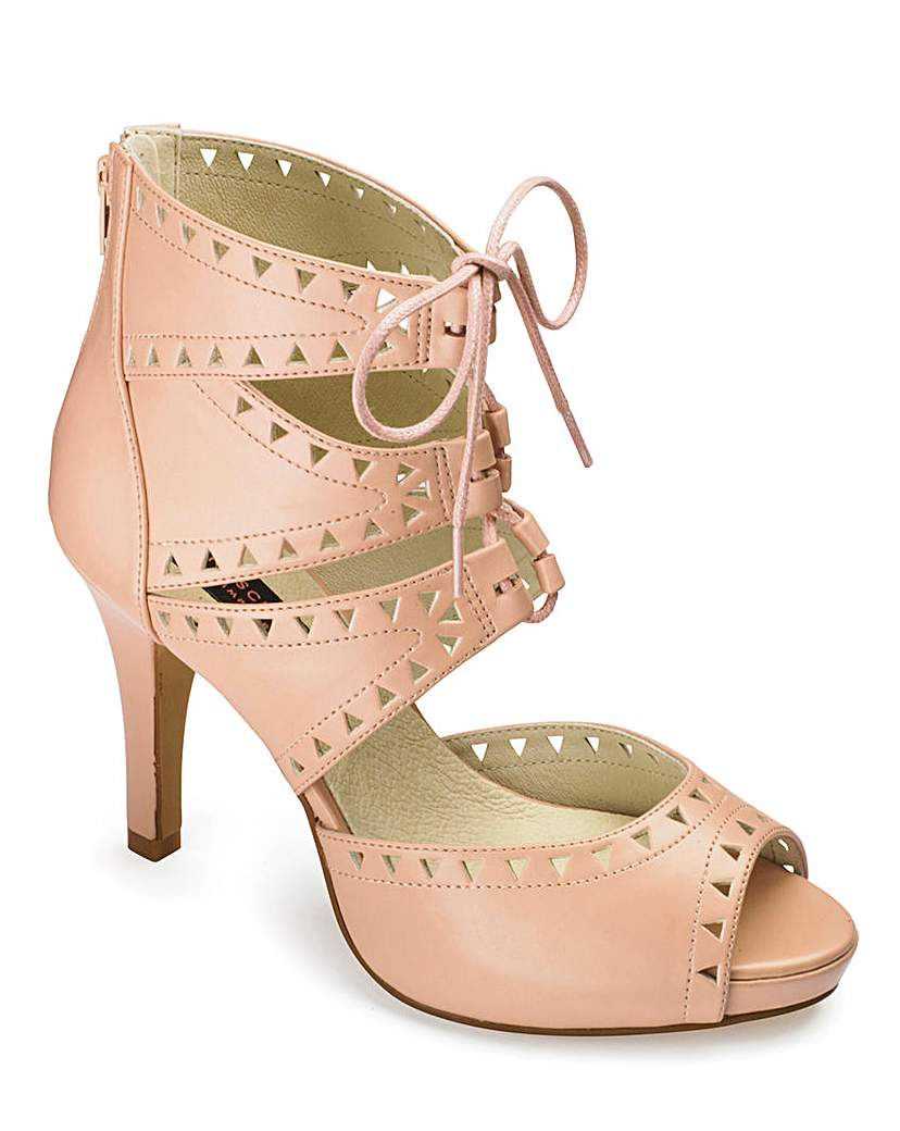 Image of Anna Scholz Lace Up Platform E Fit