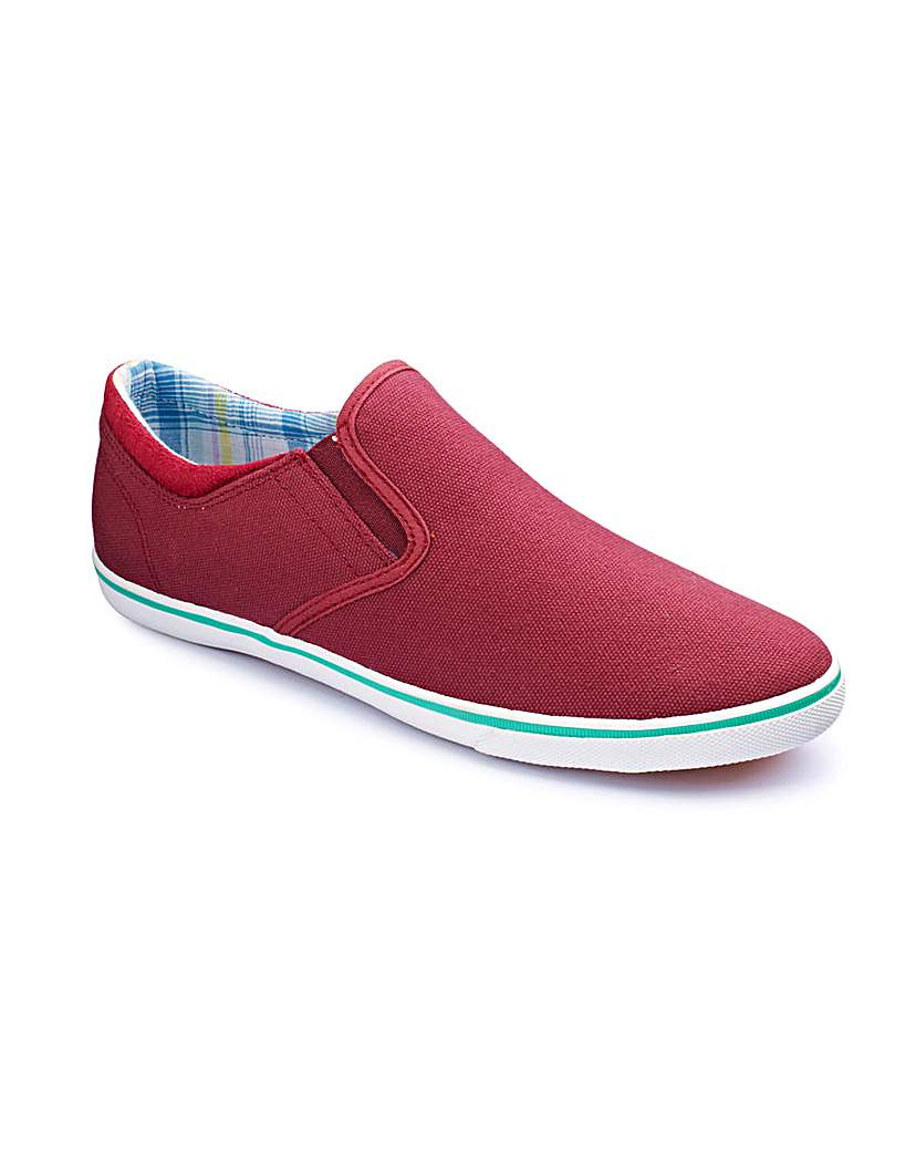 Pod Slip On Canvas Shoes.