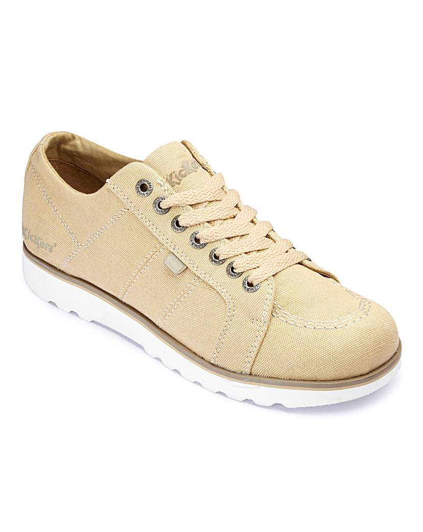 Kickers Lace Up Lite Shoes.