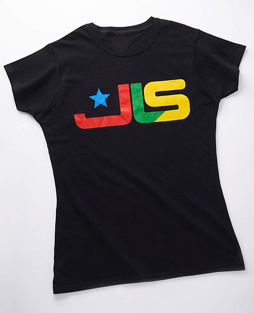 Black JLS T shirt