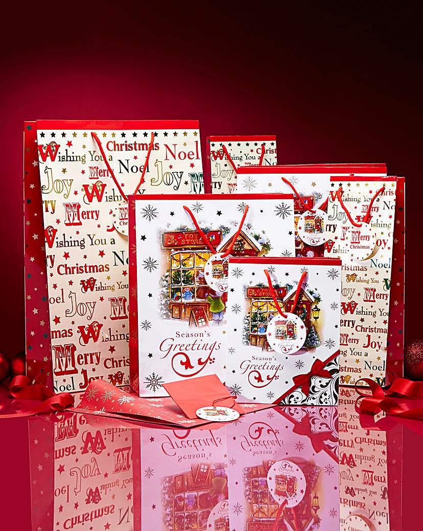 Christmas Bag and Wrap Set