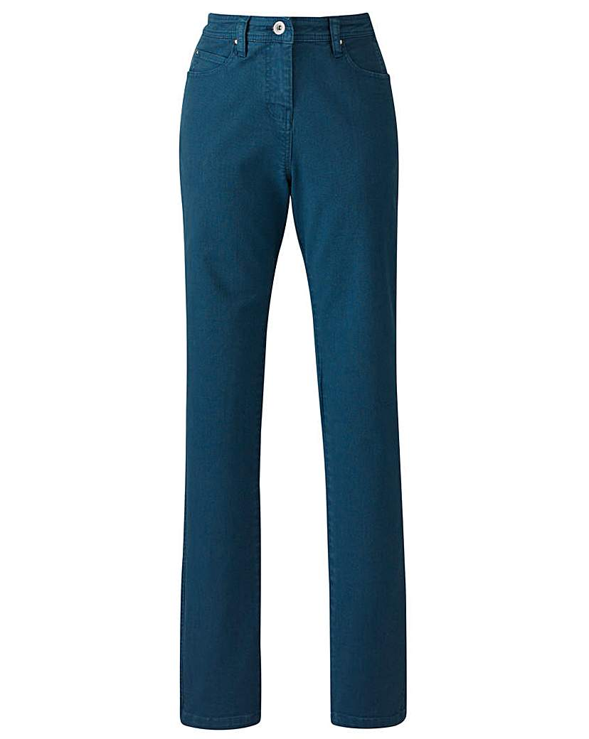 Simply Be Coloured Slim Leg Jeans Tall.