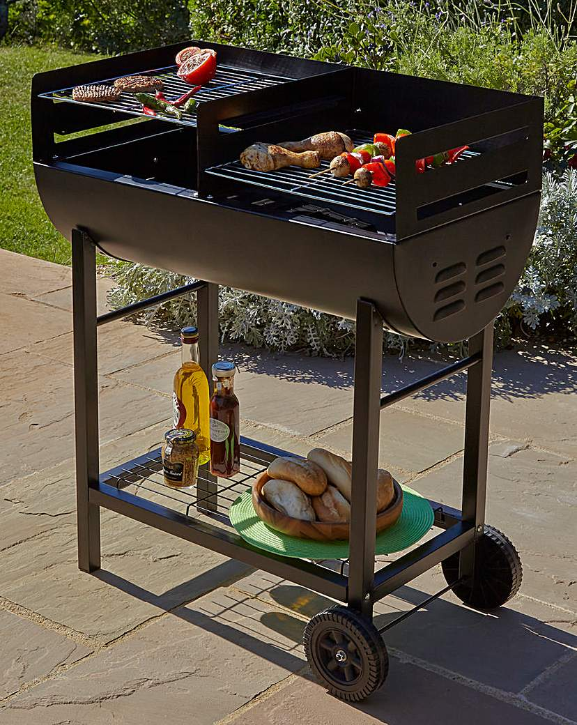 Image of Gardeco Charcoal Drum BBQ