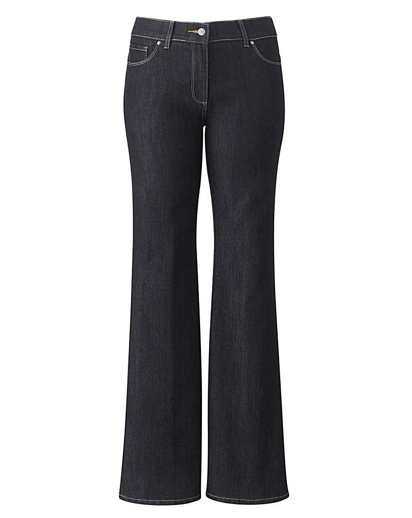 TRULY WOW Bootcut Jeans Reg
