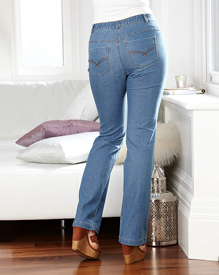 BESPOKEfit Jeans Flat Bum Fit Reg at JD Williams Catalogue