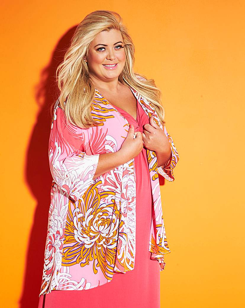 Gemma Collins Printed Cover Up