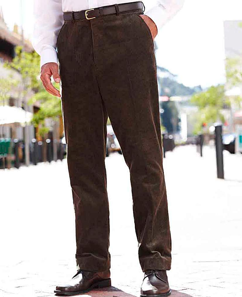 Image of Premier Man Cord Trousers 28in