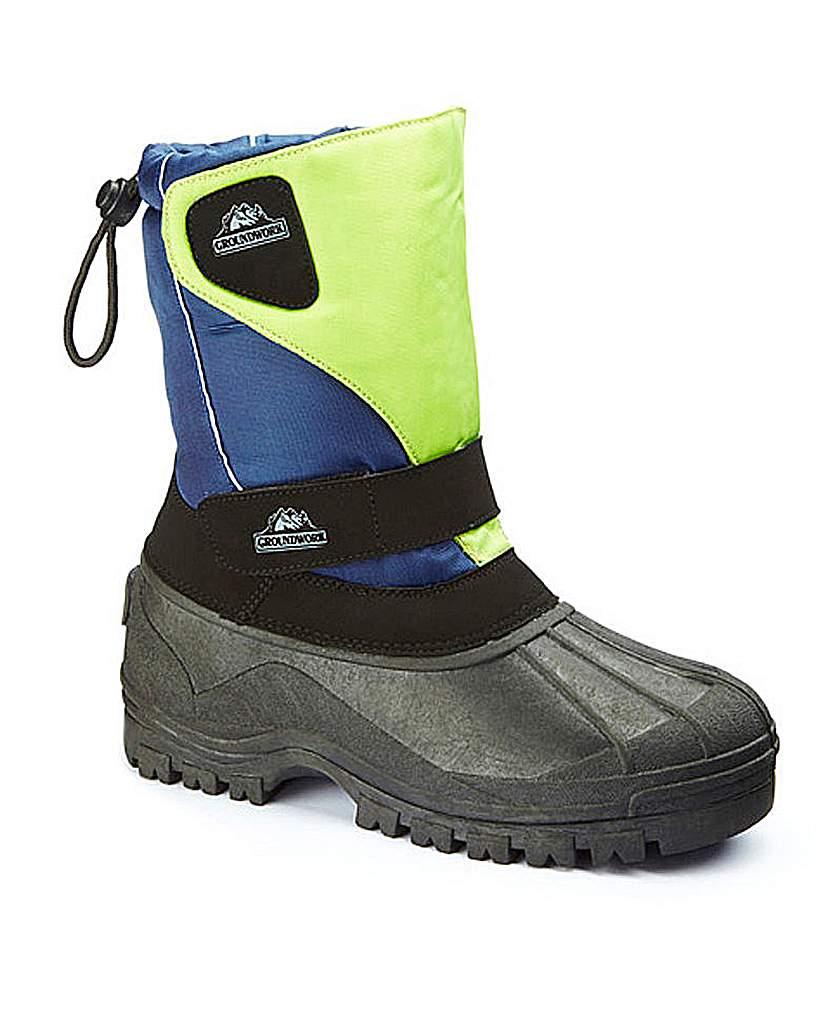 Groundwork Ladies Snow Boot