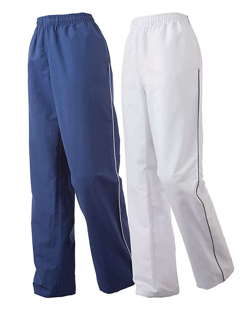 Image of Body Star Pack of 2 Woven Pants 30in