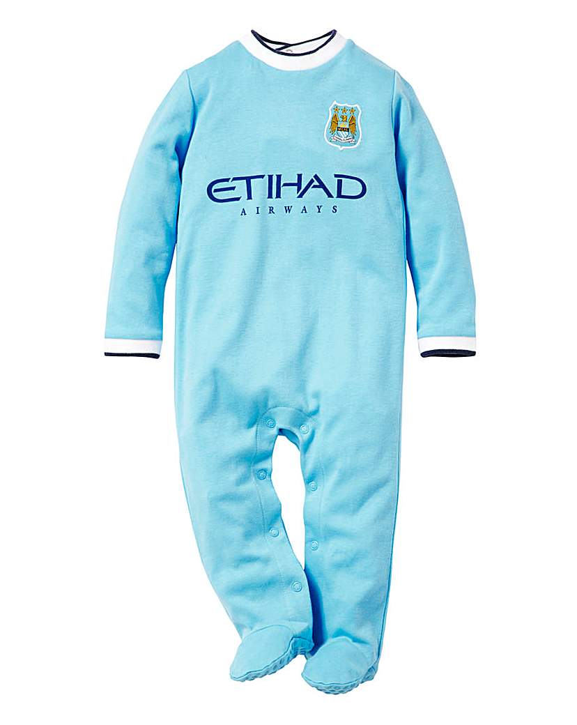 Baby Clothes Manchester City Football Club Sleepsuit