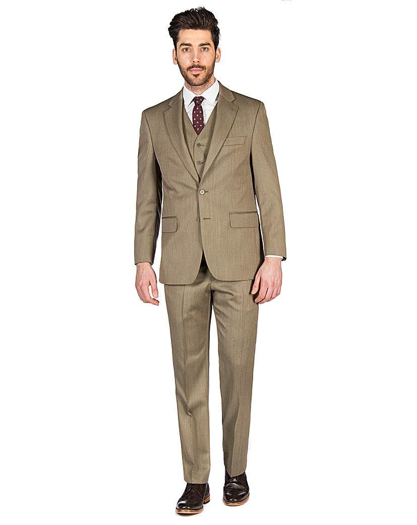 Label Suit Jacket