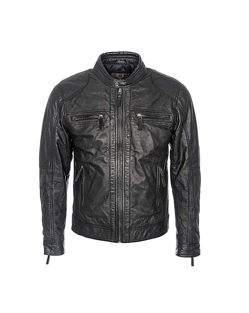 Woodland Biker Jacket.