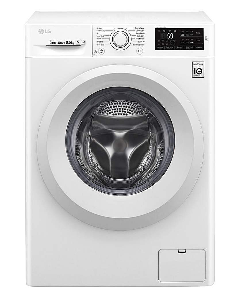 Image of LG 6.5KG 1200RPM Washing Machine White